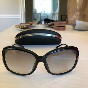 Giorgio Armani women's sunglasses with case